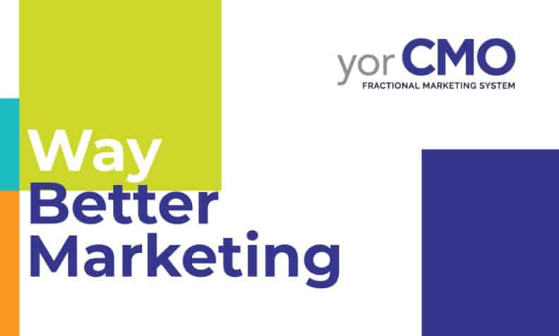 Yorcmo blog post - 5 reasons why you need a fractional cmo